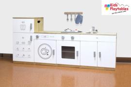Kleuter Keuken Compleet 4-delig in de kleur wit