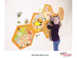 Wand-Speelelementen bijenkorf 6-delig compleet