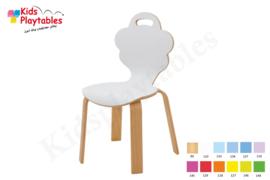 Houten stoel , stapelstoel, kinderstoeltje Desi