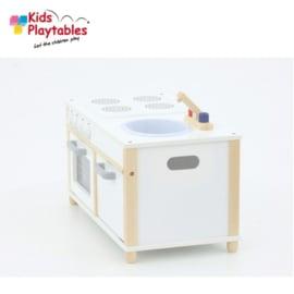 Kinderkeuken Speelgoed keuken | Oven met gasfornuis en aanrecht kinderkeuken voor Peuters