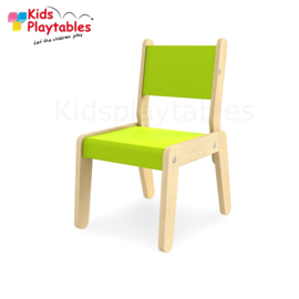 Kinderstoel - Schoolstoel- Simple kleur groen