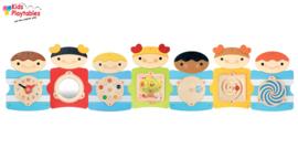 Wandspel Banbini Kinder-thema 7-delig compleet