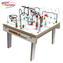 Kralentafel Speeltafel Kidsplaytables wit
