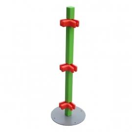 Paaltje voor kinderhoek hekwerk 90 graden