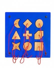 Beleduc Speel-Wandpaneel Insteekvormen