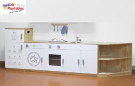Kleuter Keuken Compleet 5-delig in de kleur wit