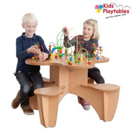 4-zits Kralenspeeltafel voor kinderhoek