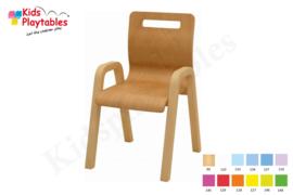 Houten Stapelbare HPL stoel , stapelstoel , kinderstoeltje Dani | kinderopvang en BSO