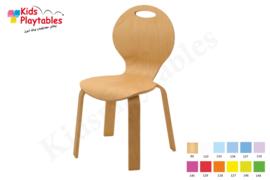 Houten Stapelbare HPL stoel , stapelstoel, kinderstoeltje Feda | kinderopvang en BSO