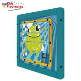 Wandspel | Wandspeelbord Sliding Puzzle Monster