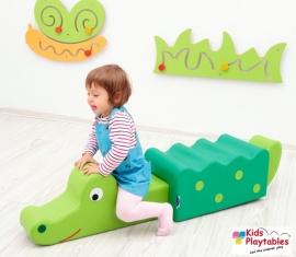 Zacht speelelement Krokodil