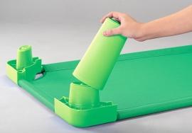 Verhoger voor rustbedje groen