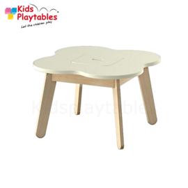 Kinder Speeltafel Simple met opbergruimte kleur wit