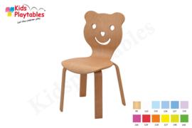 Houten Stapelbare HPL stoel , stapelstoel , kinderstoeltje Beer | kinderopvang en BSO