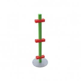 Paaltje voor kinderhoek hekwerk 180 graden