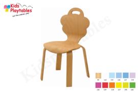 Houten Stapelbare HPL stoel , stapelstoel, kinderstoeltje Desi | kinderopvang en BSO