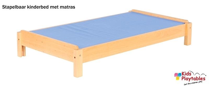 Stapelbaar Kinderbed met matras