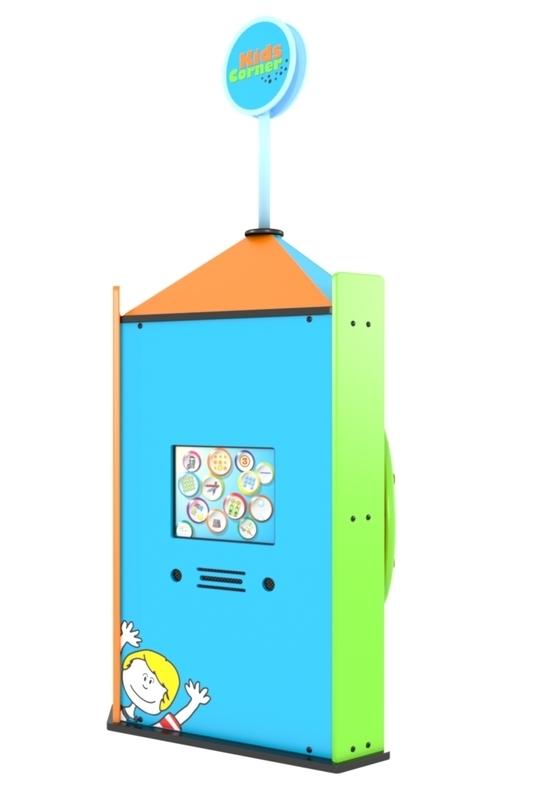 Vrijstaand speelsysteem met Touchscreen Spelcomputer
