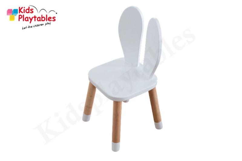 Konijnenstoel Bunny   Konijnenoor stoeltje   Peuterstoeltje met konijnenoren   Konijnenstoeltje   Houten kinderstoeltje   Kinderzetel   Stoeltje konijn
