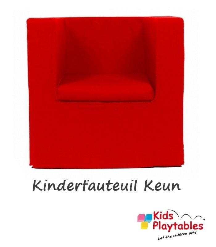 Kinderfauteuil Keun Katoen Rood