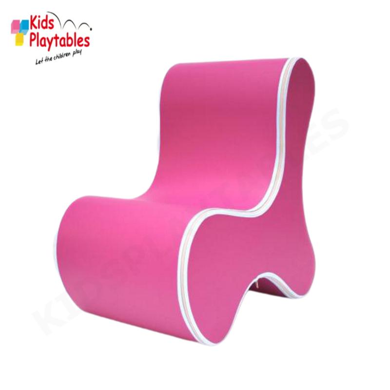Design Kinderstoel, Kinderzetel Ozo Bone in de kleur Roze