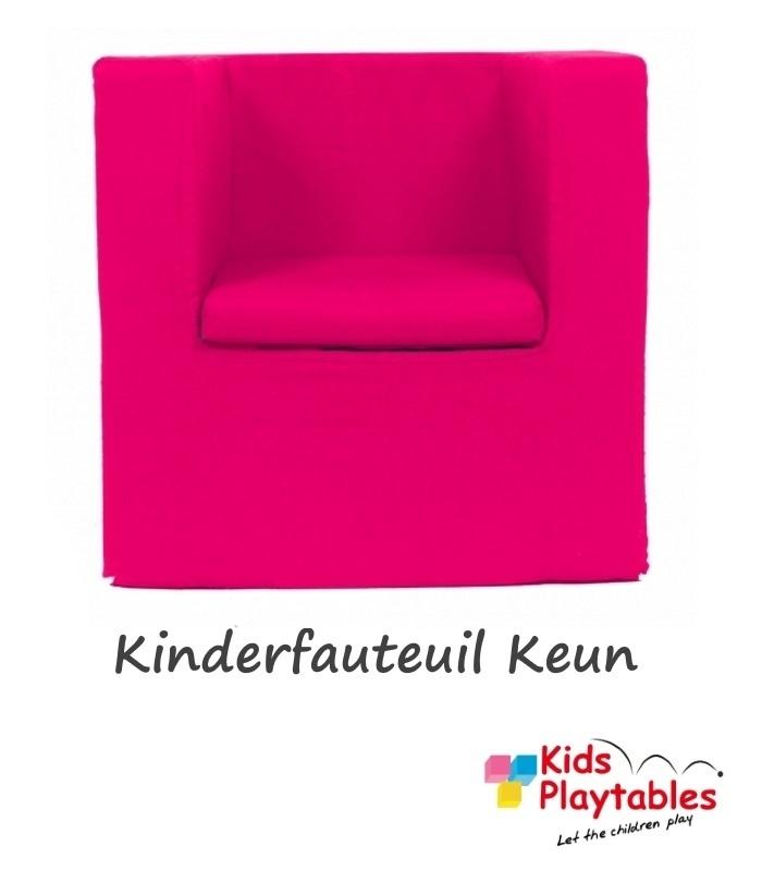 Kinderfauteuil Keun Katoen Fuchsia Roze