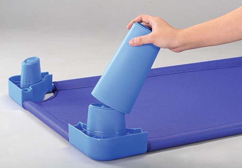 Verhoger voor rustbedje blauw