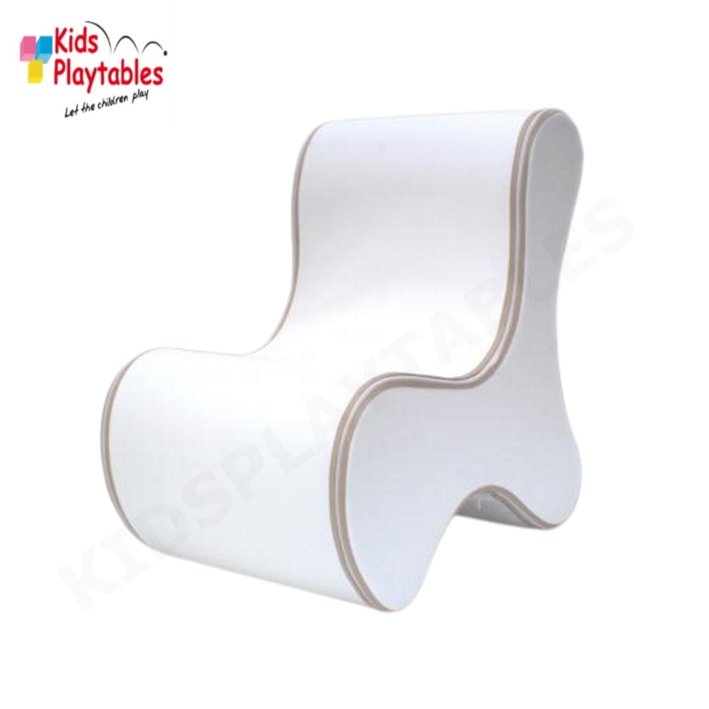 Design Kinderstoel, Kinderzetel Ozo Bone in de kleur Wit
