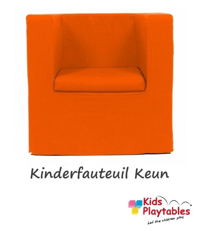 Kinderfauteuil Keun Katoen Oranje