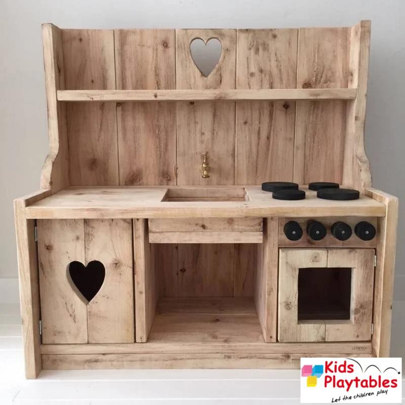 Kinderkeuken Speelgoed keuken | Steigerhout kinderkeuken old Look uitvoering