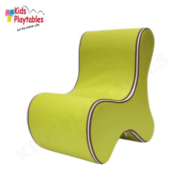 Design Kinderstoel, Kinderzetel Ozo Bone in de kleur Limegroen