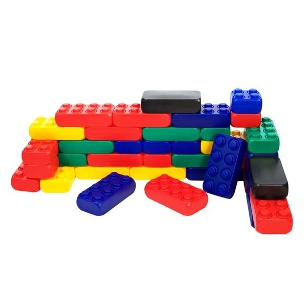 Reuze Speelblokken voor uw Speelhoek Voordeelset 106 stuks