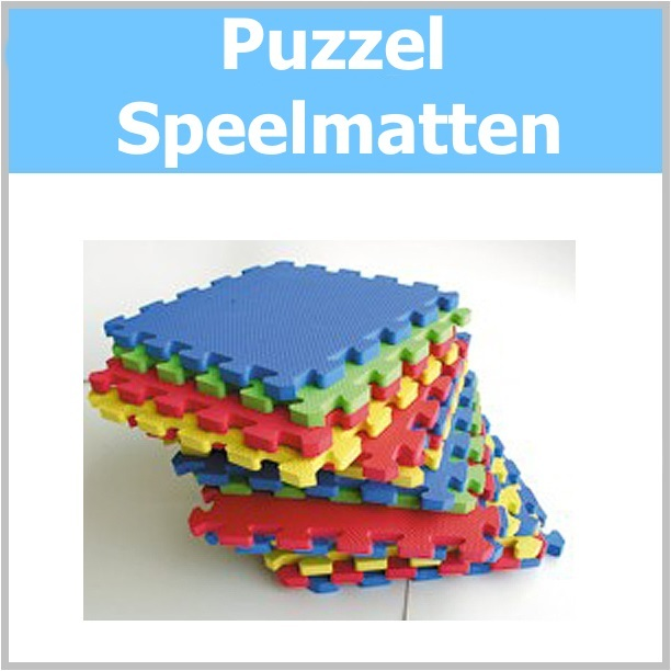 Puzzel speelmatten
