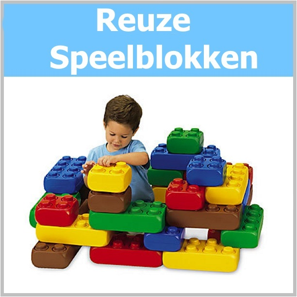 Reuze Lego Speelblokken