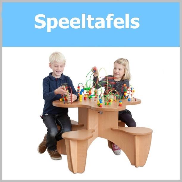 4-zits kralenspeeltafel