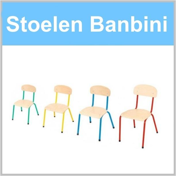 Stoelen voor de kinderopvang van Banbini