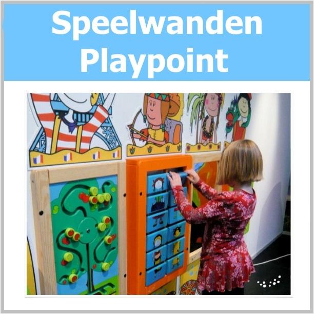 Spelmodules en wandspelpanelen playpoint
