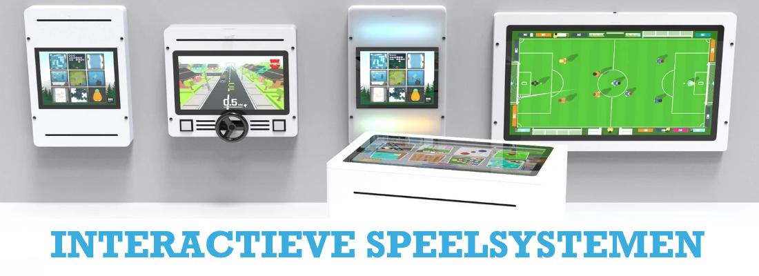 Interactieve touchscreen spelcomputers