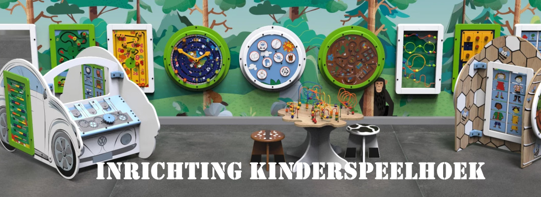 Inrichten kinderspeelhoek Kidsplaytables