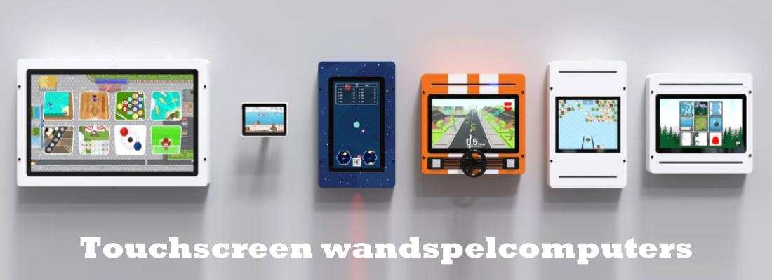 Kidsplaytables touchscreen wandspelcomputers voor uw kinderspeelhoek