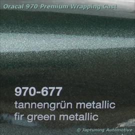 Wrap Folie Oracal Premium 970RA-677 Fir Tree Green Metallic