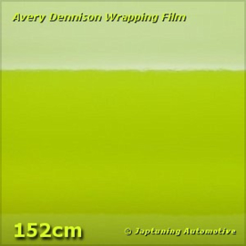 Avery Supreme Wrapping Film Gloss Lime Green