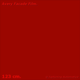 Avery Facade Film Ruby Red Gloss - RAL 3003