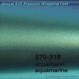 Wrap Folie Oracal Premium 970RA-318 Aquamarine