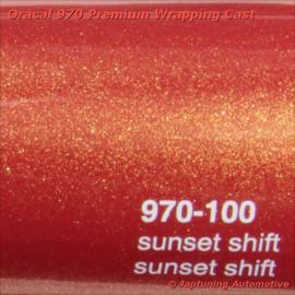 Wrap Folie Oracal Premium 970-100 - Sunset Shift