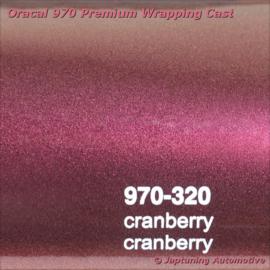 Wrap Folie Oracal Premium 970RA-320 Cranberry