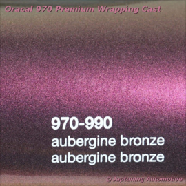 Wrap Folie Oracal Premium 970RA-990 Aubergine Bronze