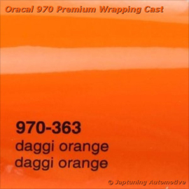 Wrap Folie Oracal Premium 970-363 - Daggi Oranje