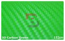 Wrapfolie 3d Carbon Groen