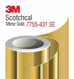 Spiegelfolie 3M Scotchcal 7755SE - 431 Mirror Gold